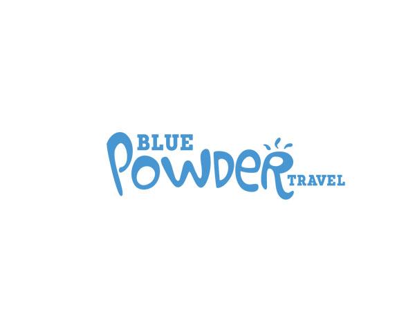 blue powder logo